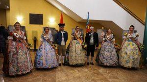 Presentación de las Falleras Mayores de Paterna