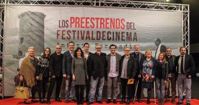 """Álex de la Iglesia en el pre estreno de la película """"El Bar"""""""