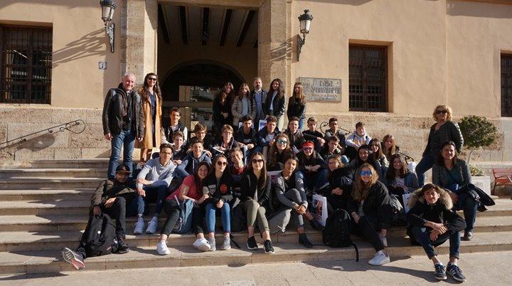 Recepción estudiantes La Salle